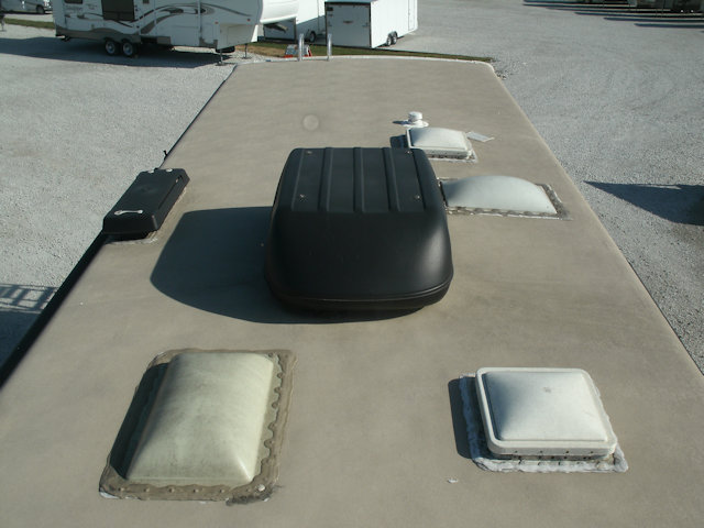 Rusted Out RV Roof